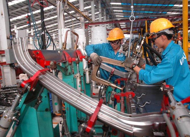 ngành cơ khí Việt Nam
