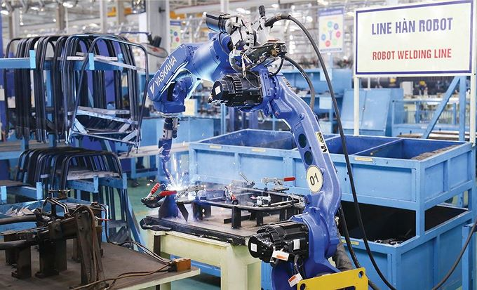 Công nghiệp chế biến, chế tạo tăng trưởng khá cao